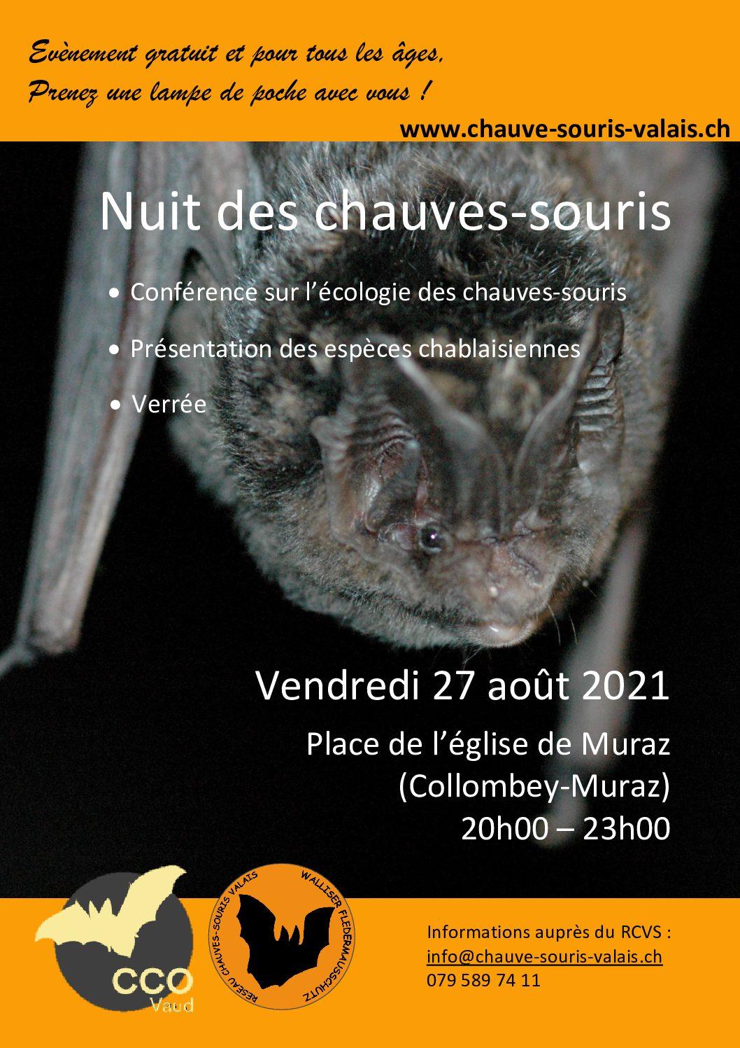 Nuit des Chauves-souris 2021-Evenement public (gratuit)